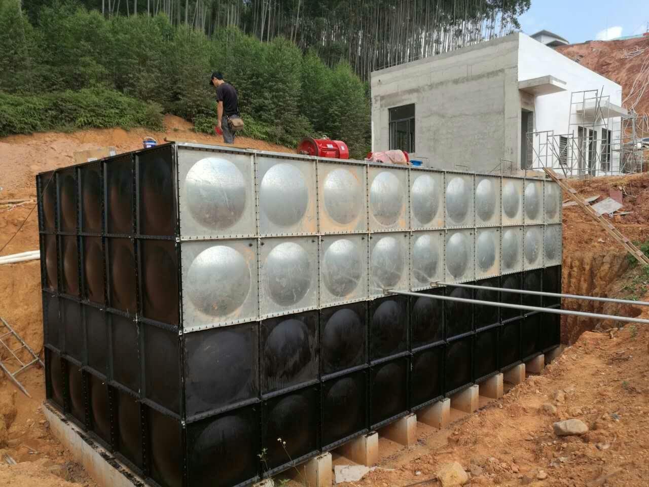 球吧网直播手机蒲庙气象站项目地埋式消防箱泵一体化